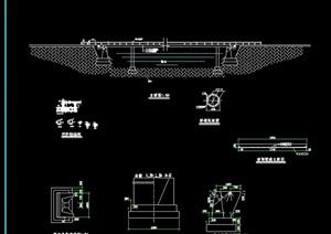 鵲橋素材設計cad施工圖