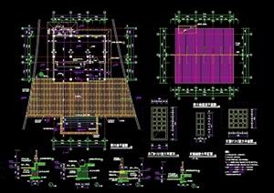 售卖房建筑设计cad施工图