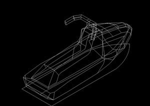 多种不同造型的船素材cad方案