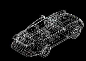 多种不同的车素材cad方案