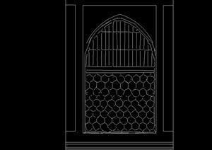 47种不同的门窗素材cad方案