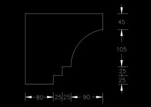 123个欧式常用构件素材cad方案
