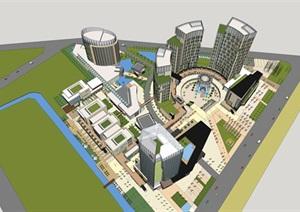 某市商务中心建筑群项目
