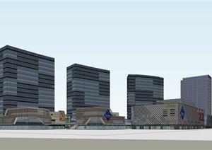 悦合广场商业综合体概念方案