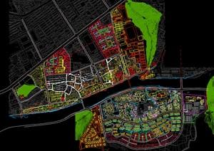 宁波某古镇城市设计总图