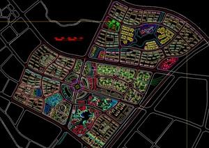 肇庆某小镇城市设计总图