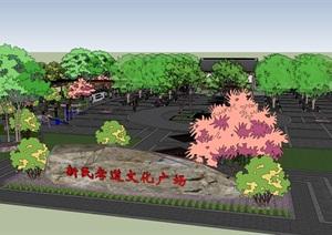 美麗鄉村生態公園健身廣場景觀節點方案設計二