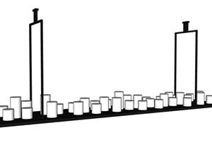 中式風格多個詳細的燈具素材SU(草圖大師)模型