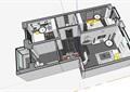 住宅室内空间完整详细装饰su模型