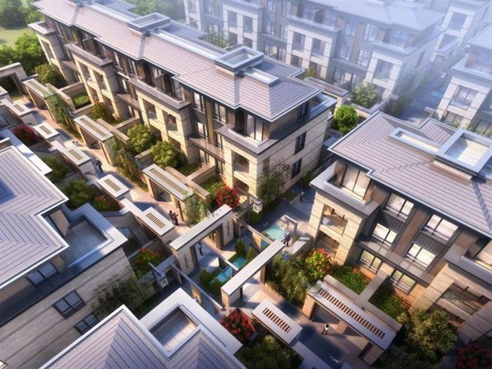 上海信达·泰禾新江湾新中式别墅群建筑与景观方案SU亿博网络平台(5)