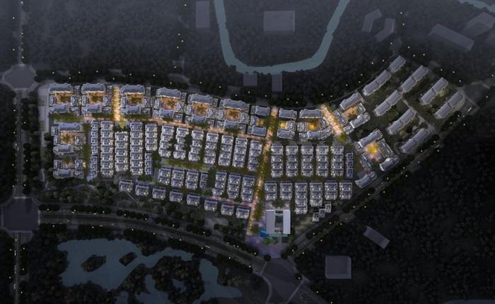 上海信达·泰禾新江湾新中式别墅群建筑与景观方案SU亿博网络平台(11)