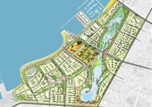 海南某滨海新城城市设计总图