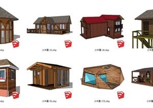 75款精致的小木屋、竹屋民宿等合集