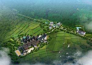 赣州市金龙镇兆坑村乡村规划