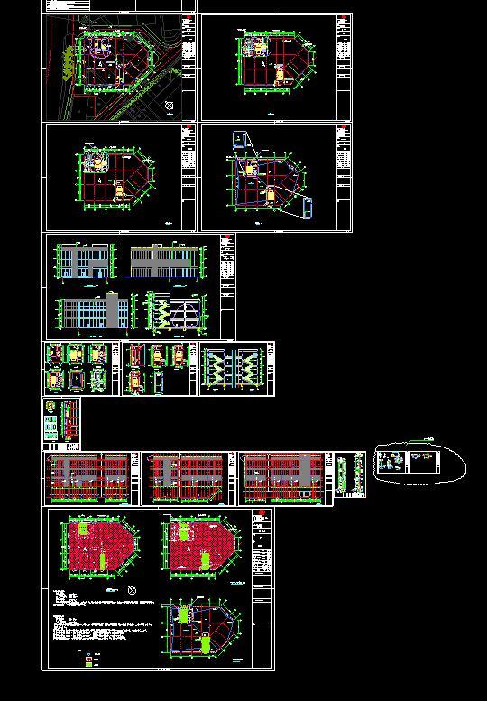 某商贸城建筑施工图(2)