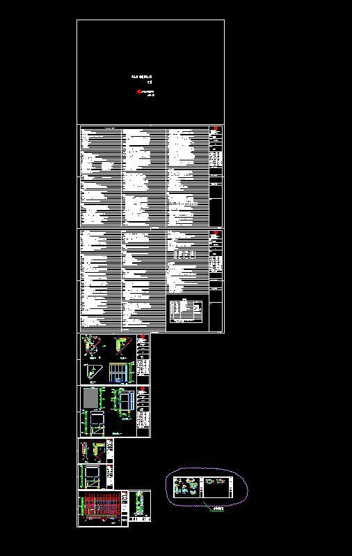 某商贸城建筑施工图(10)