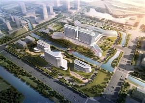 某市江都綜合醫院概念方案
