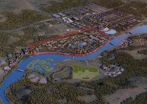 中国汝瓷小镇一期概念规划设计方案高清文本