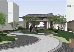 南京应天府住宅示范区景观设计方案高清文本