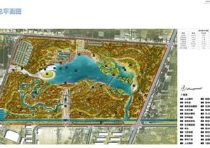 伽师县城中胡杨湿地公园景观规划设计方案高清文本