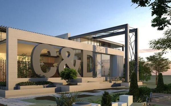 现代风格厦门建发销售展示中心SU模型(13)