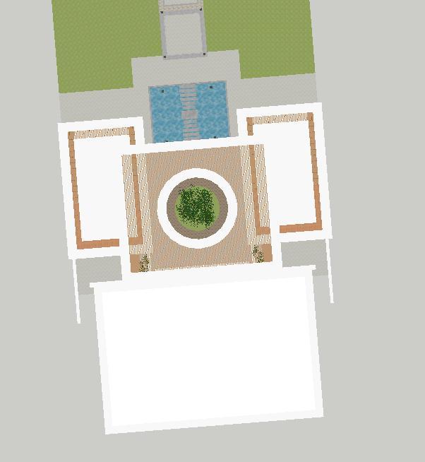 现代风格售楼处建筑方案SU模型(8)