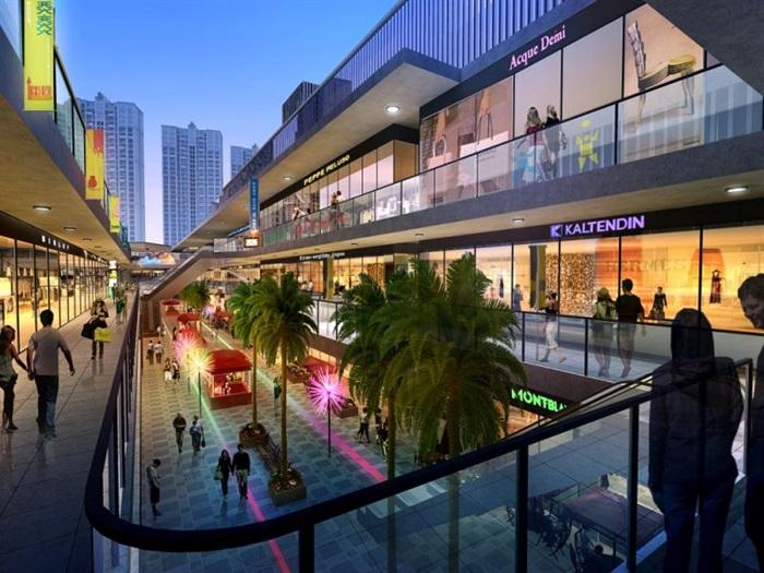 现代风格昆明红星国际广场SU模型(14)