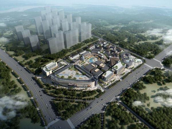 现代风格泰安新华城国际广场SU模型(附实景图)(16)