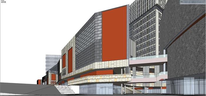 现代风格海尔时代广场SU模型(6)