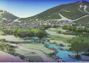 吉林北大湖山地体育旅游区总体规划设计