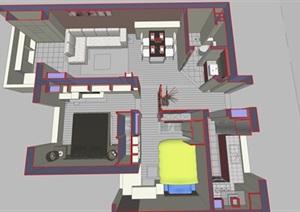 精美的現代簡約風格別墅室內設計