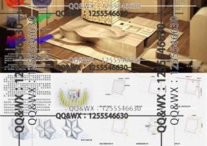 酒店设计作品建筑#原创#设计资料# 全套模型图纸