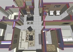 精细的古典风格室内设计
