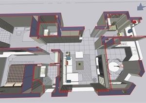 现代简约风格室内设计方案