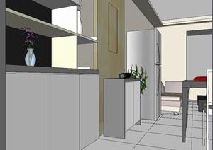 现代简约美式风室内设计方案