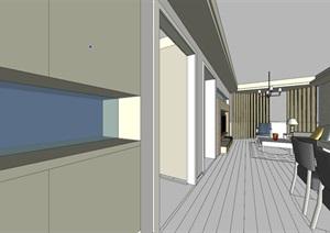 现代简约风整套室内设计方案