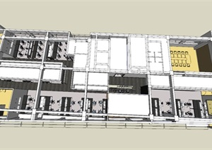 现代风格精细的餐厅建筑设计方案
