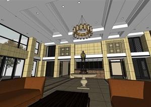 精美的酒店大堂装修设计