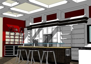 精细的酒吧前台装饰设计