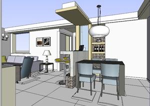 精美的简约风格别墅室内设计