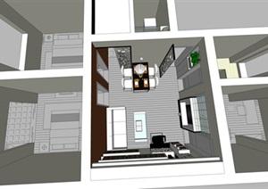 现代简约风室内设计案例