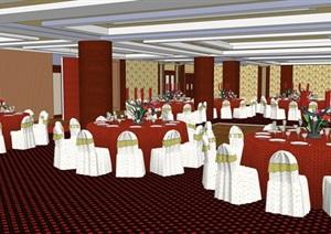 精美的古典风格酒店室内设计