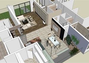 现代轻奢风格 室内设计方案
