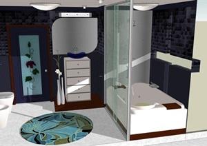精细的卫生间室内设计方案