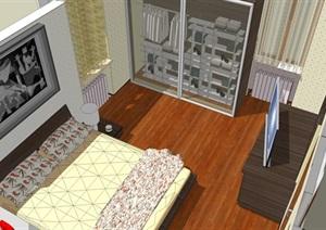 精美的美式风格卧室设计