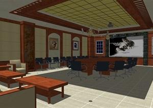 古典风格办公室奢华室内设计