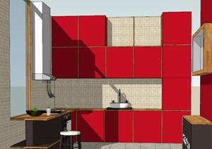 开放式厨房室内设计方案