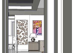 精美的简约风格两室室内设计