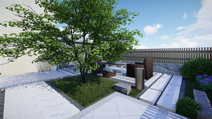 別墅景觀設計(1)