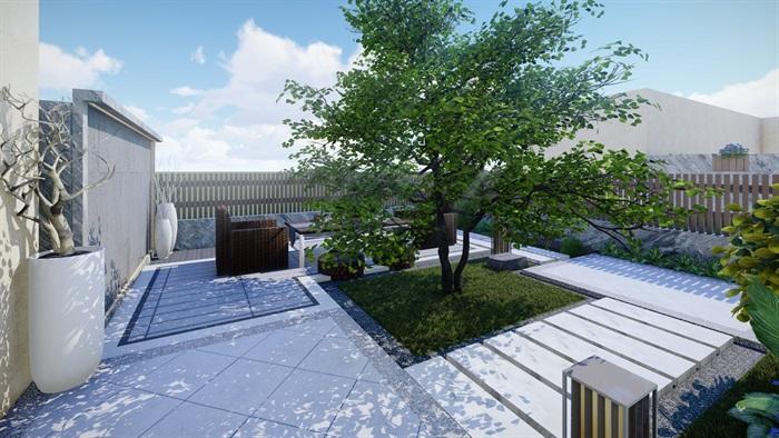 別墅景觀設計(2)